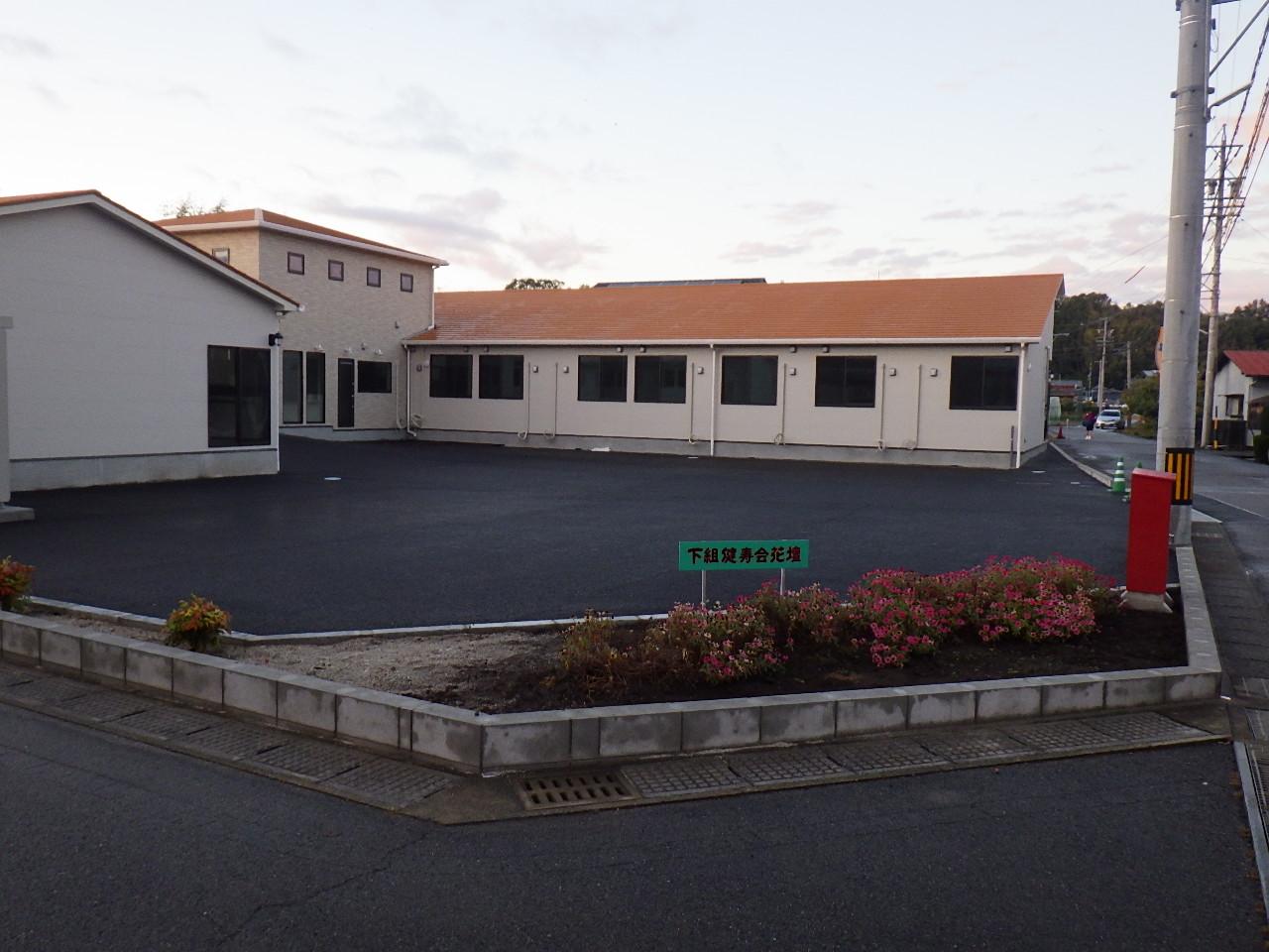 美濃加茂市 老人保健施設外構工事