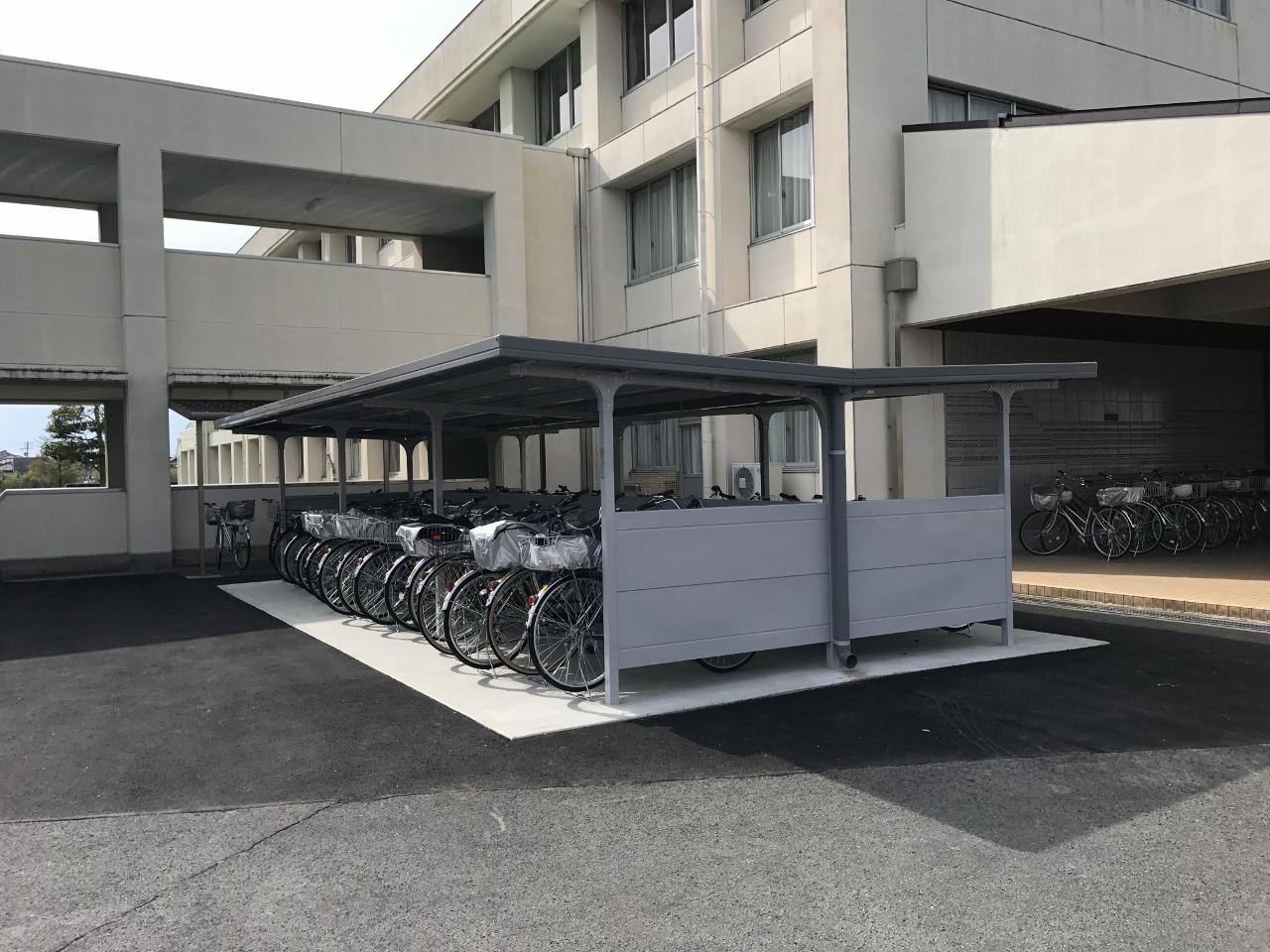 可児市役所 東可児中学校駐輪場整備工事