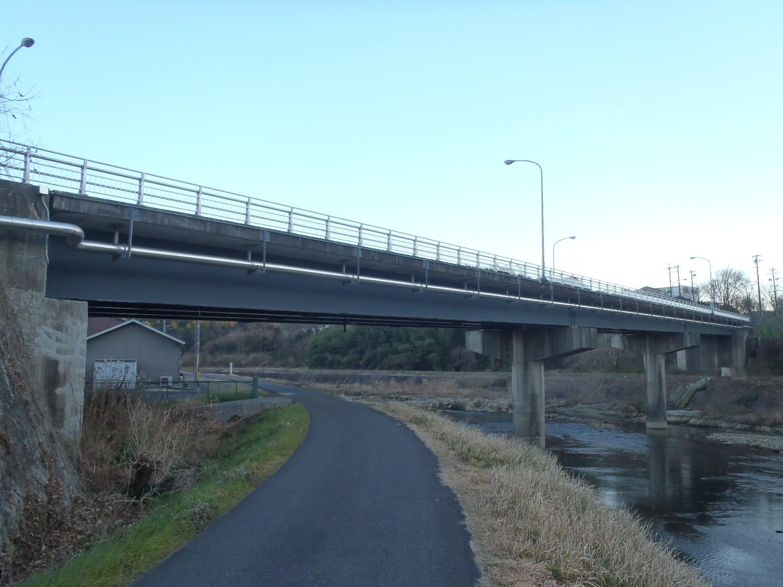 可児市役所 あけぼの橋補修その2工事