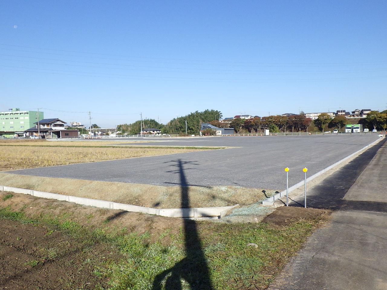 可児市 運送会社駐車場造成工事